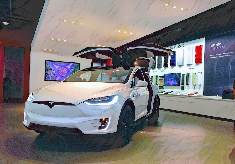 "Big Auto's Decision To ""Wait & See"" Gives Tesla A Growing Lead"