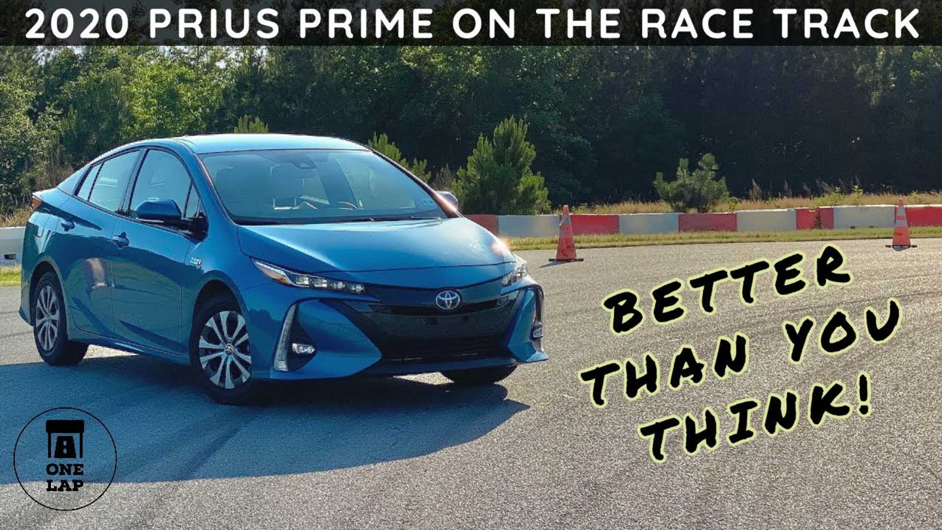 Can The Toyota Prius Prime Surprise In One Lap?
