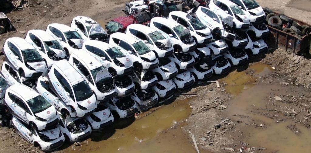 Dozens of electric cars get crushed in scary deja vu — but it's not as bad as you think