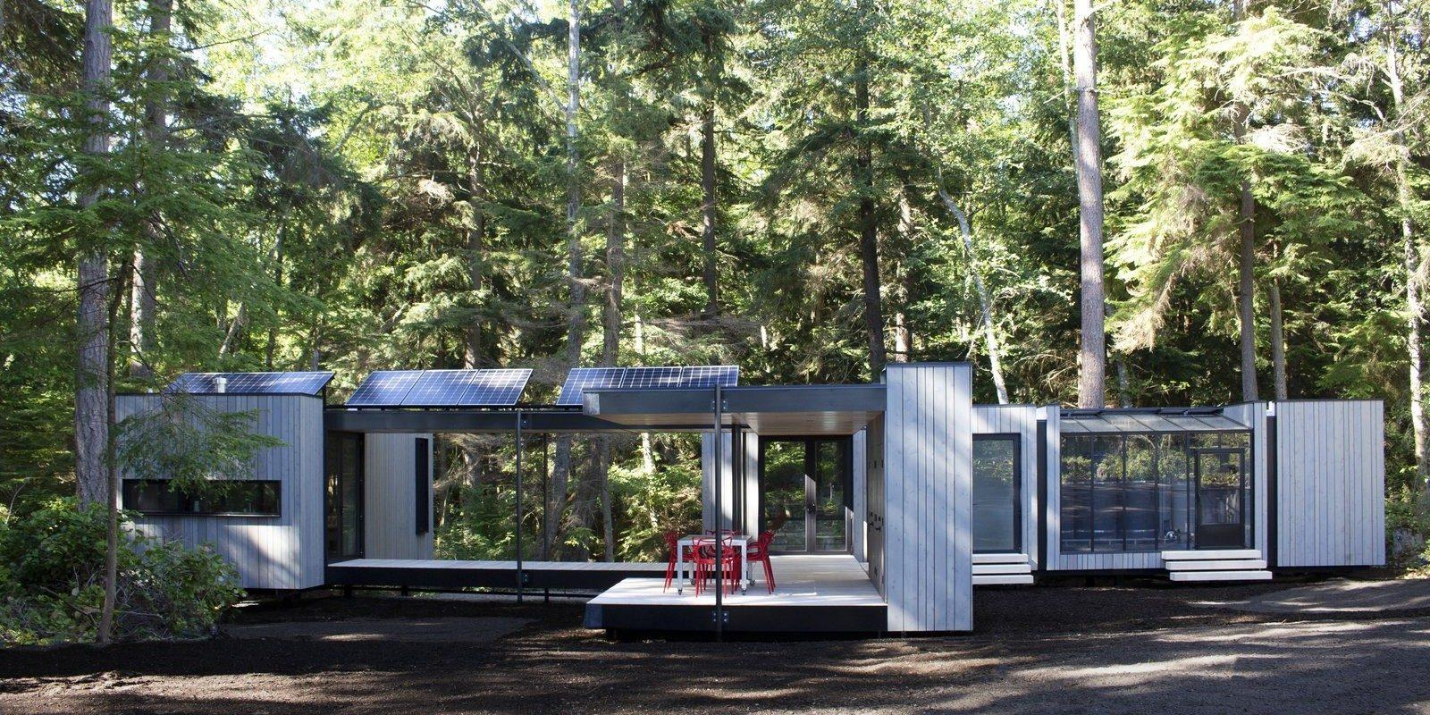 EGEB: This net zero house can be assembled like IKEA furniture