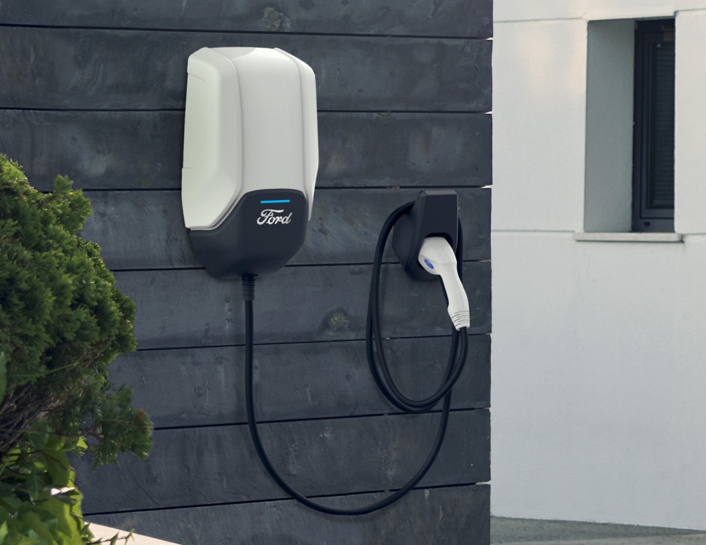 Ford Connected Charge station - for electric vehicles and PHEVs