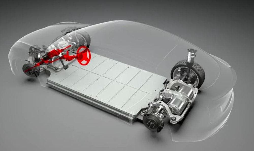 History Of Electric Cars Using Skateboard Platforms