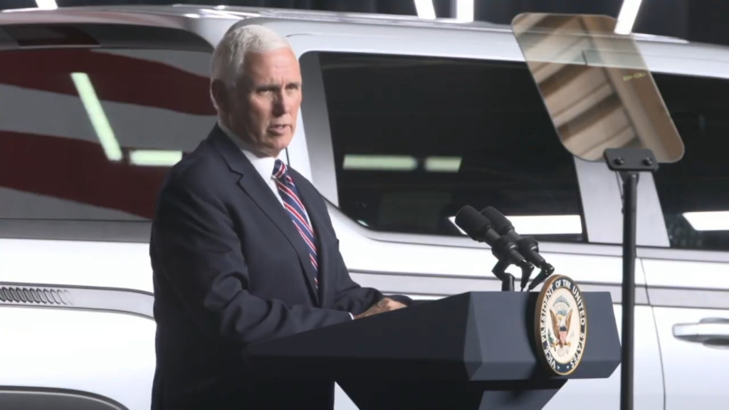 Vice President Mike Pence - at Lordstown Motors event, June 2020