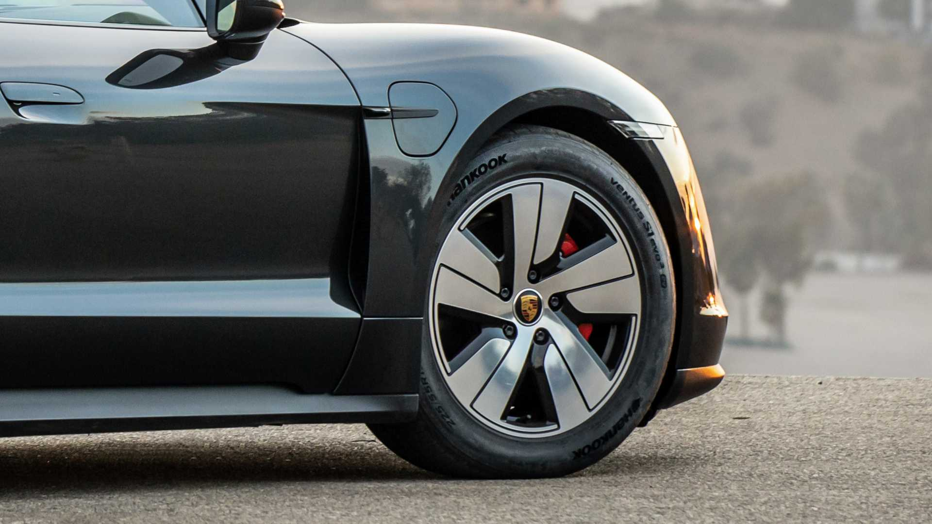 Porsche Taycan Gets Special Optimized Tires From Hankook