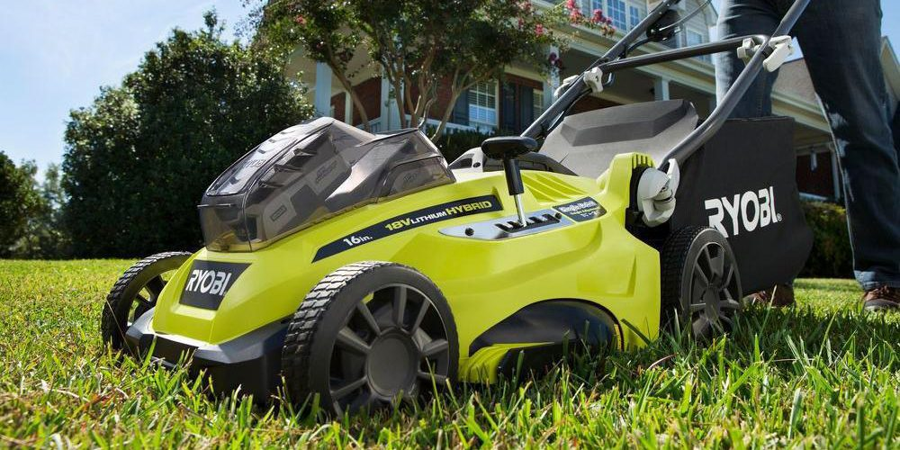 RYOBI's 16-inch electric lawn mower is $299, more in today's Green Deals
