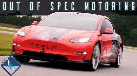 Tesla Model 3 Performance Tears Up The Track: Road To Pikes Peak