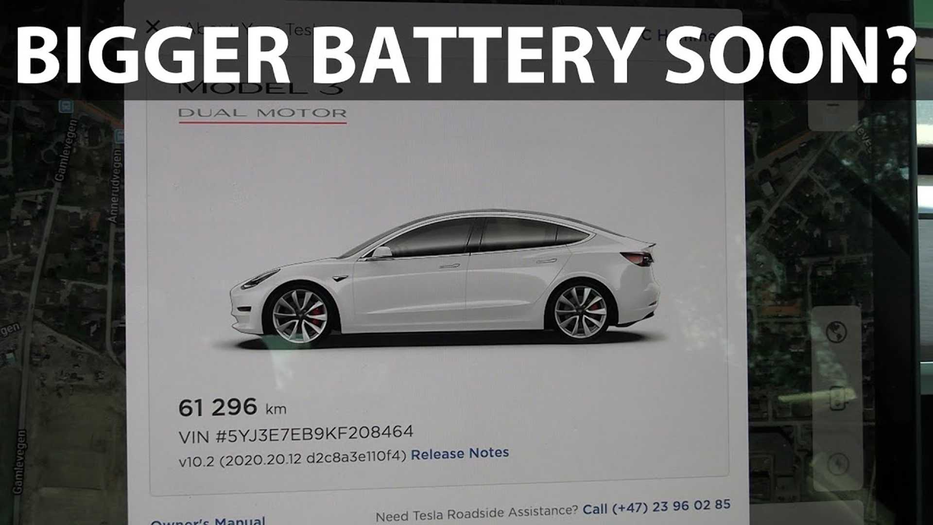 Tesla Reportedly Increases Max Battery Size To Hefty 205 kWh In Software