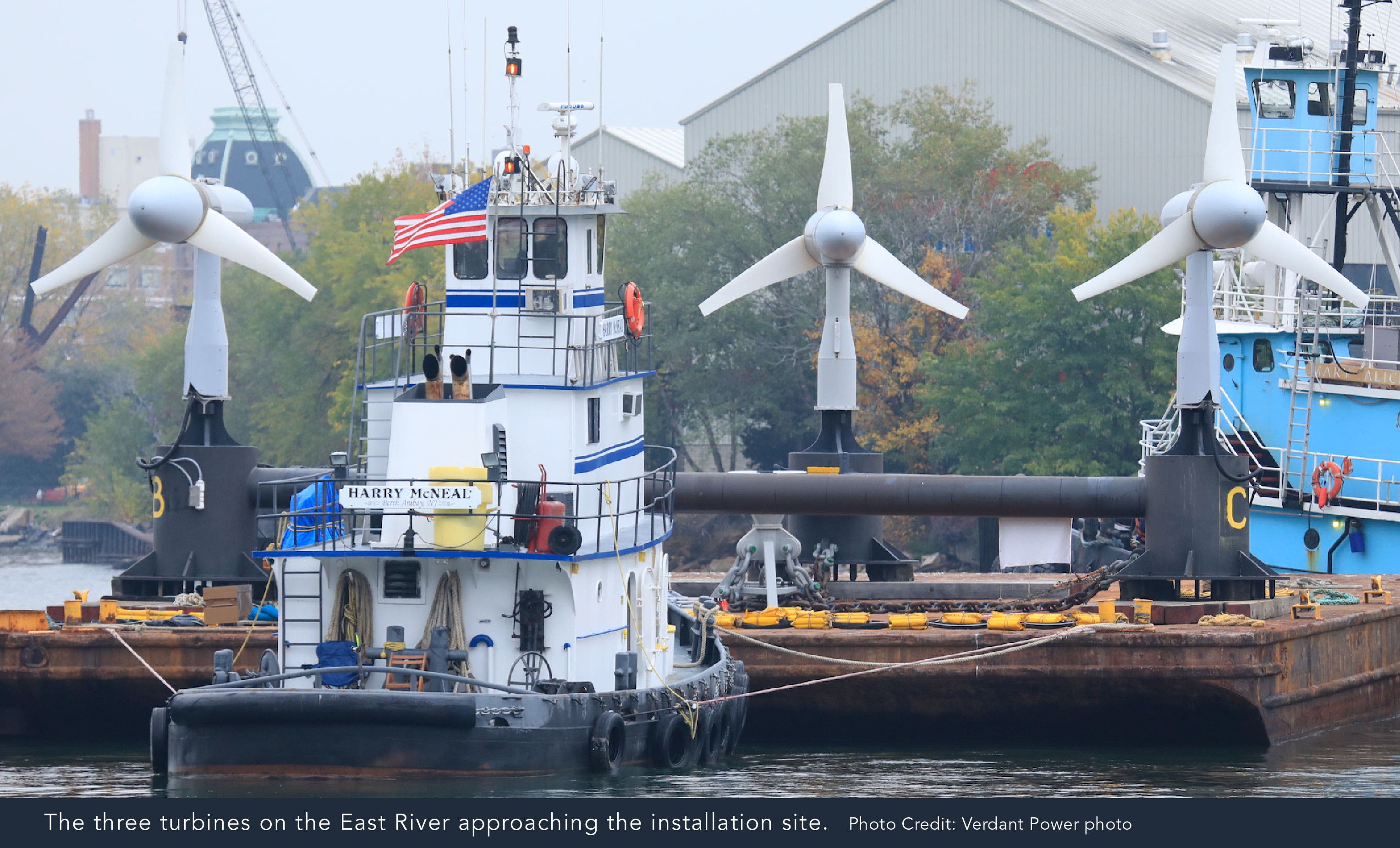 3 Tidal Turbines