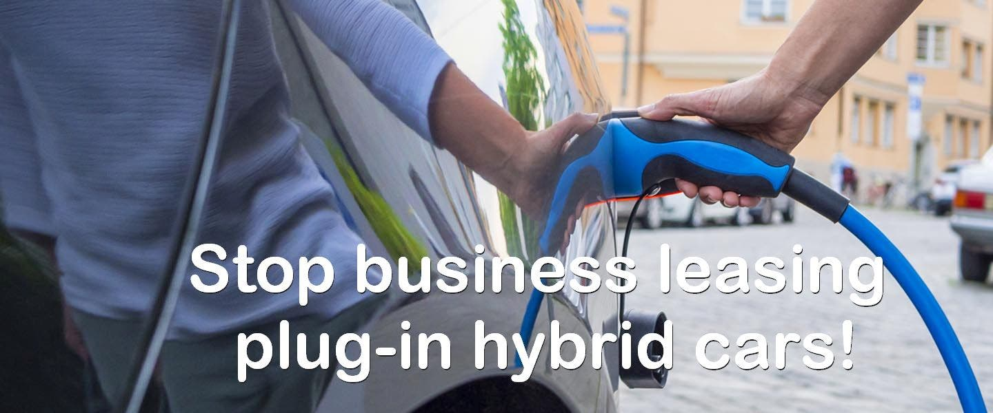 LeasePlan Asks Customers To Please Stop Leasing Plugin Hybrid Company Cars