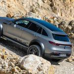 Mercedes-Benz EQC 4x4 scouts the trail for an electric G-Wagen