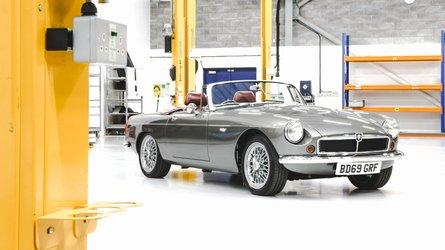 MGB-Inspired Electric Roadster Revealed