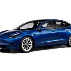 New Blacked-Out,Tesla Model 3 Gets EPA Range/Efficiency Ratings