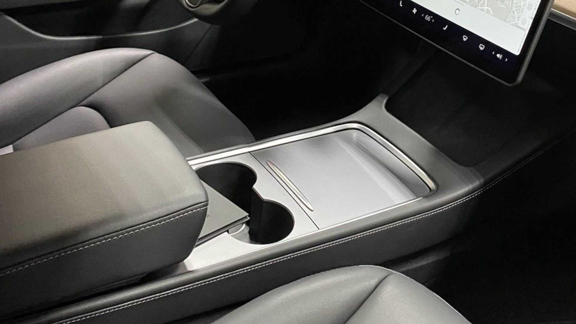 UPDATE: Tesla Making Notable Updates To Model 3: Center Console Revealed