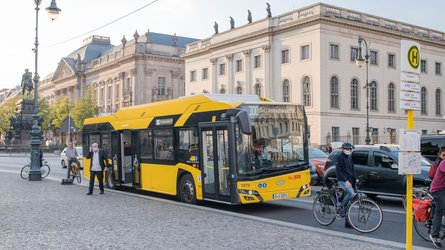 Germany: Berlin Has 90 New Solaris Electric Buses