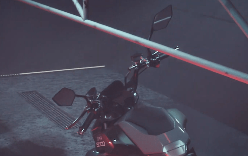 New clues and details surface ahead of Super Soco's electric motorcycle unveiling