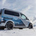 The vanlife electric: Nissan e-NV200 Winter Camper concept