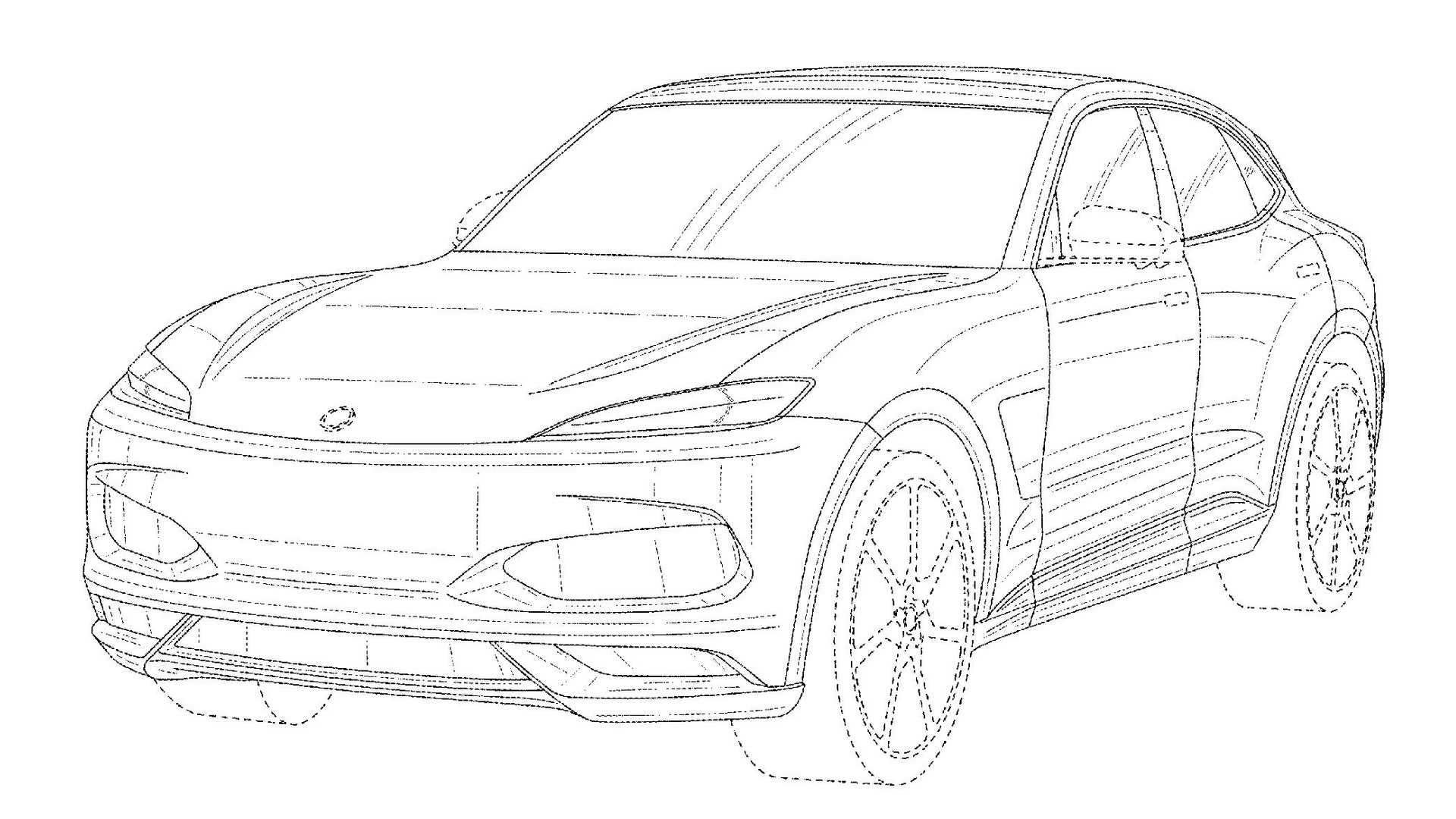 Leaked Patent Drawings Reveal Karma's Upcoming Electric SUV