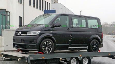 Volkswagen ID Buzz Test Mule Spotted Wearing Transporter Body
