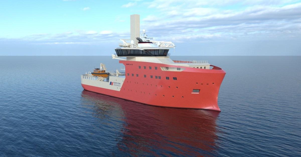 EGEB: Service vessels for the world's largest offshore wind farm look amazing in CGI
