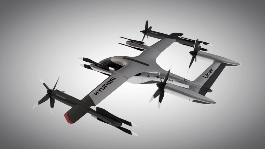 Hyundai and Uber Elevate electric air taxi concept