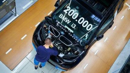 BMW Just Produced Its 200,000th i3
