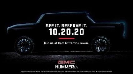 GMC Hummer Electric Pickup Truck Debuts Today: Watch Livestream Here
