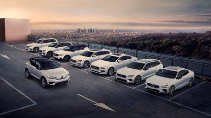 Volvo More Than Tripled Plug-In Car Sales In March 2021