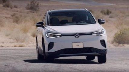 Watch Tanner Foust Push Volkswagen ID.4 To Its Limits On The Track